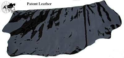 Finest Quality Traditional English Black Patent Leather Half Side 5