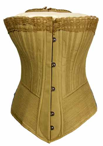 tight corset essay Into this the growing girl is compressed by force, the corset is shut tight and secured by a lock, the key being kept by the mother or whoever is responsible for the proceeding.