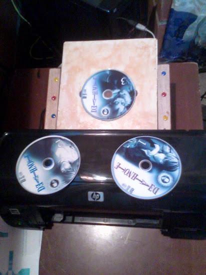 Como printar un cd/dvd