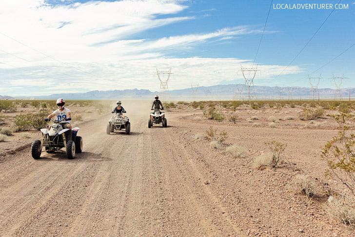 ATV Tours with DeTour Vegas // Top Things to Do in Las Vegas.