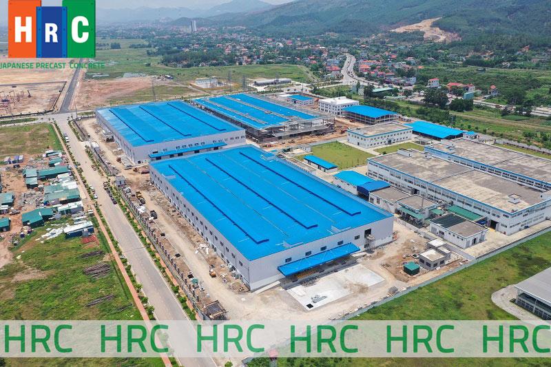Kết cấu bao che nhà công nghiệp tại Công ty xây dựng HRC Việt Nam