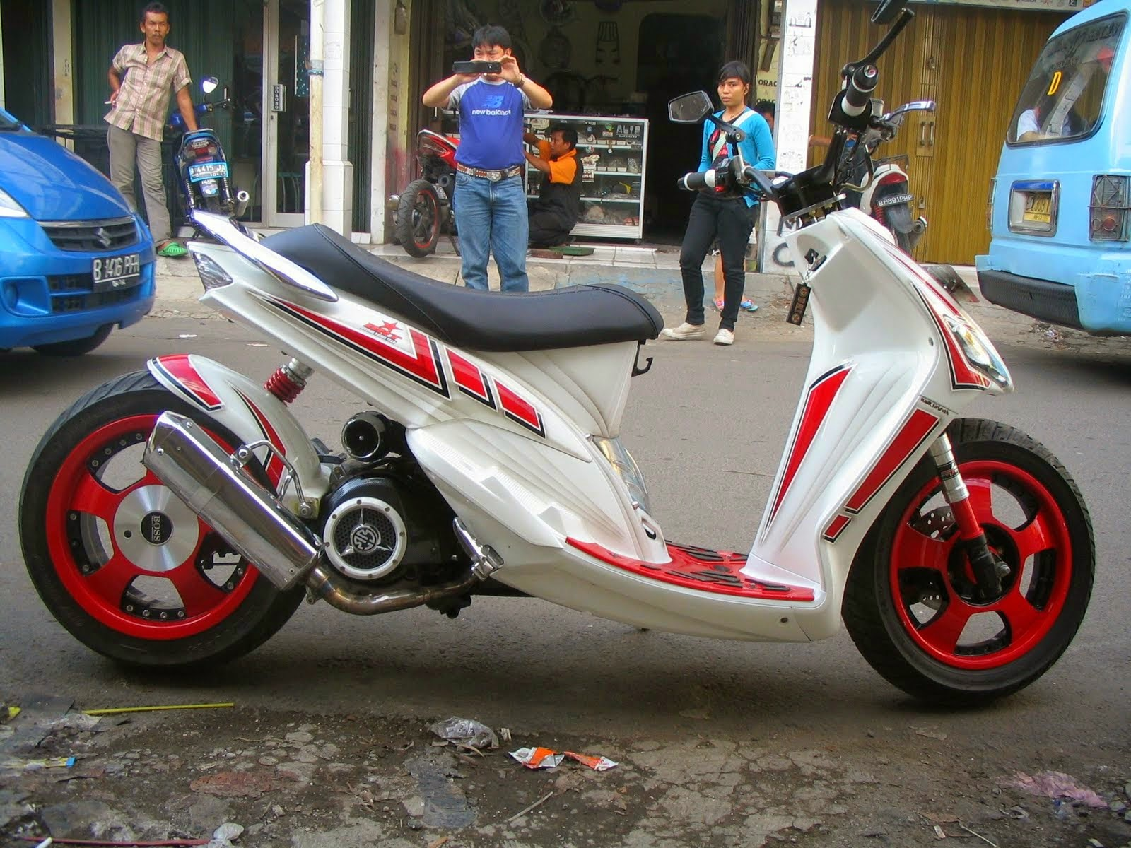 Top modifikasi mio sporty simple