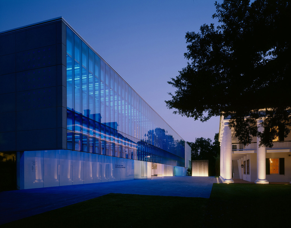 ULL Art Museum design by  Eskew+Dumez+Ripple