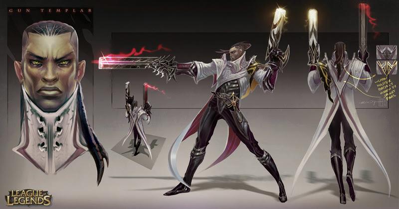 Riot Games hé lộ thông tin về tướng mới Lucian - Ảnh 1