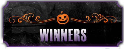 Haunted Halloween WINNERS — Part 2 and Personal Note