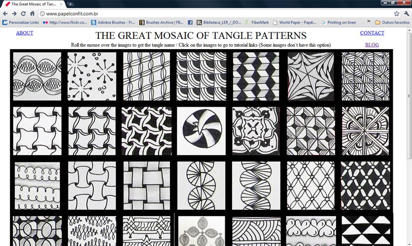 Tangle brasil padr 245 es patterns