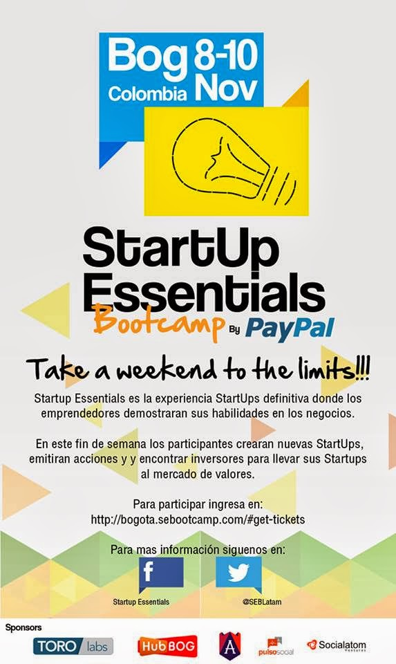 Startup Essentials Bootcamp, un evento para poner a prueba tus habilidades como emprendedor