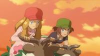 ¡Serena se pone seria! ¡¡La dura Carrera de Skiddo!! Pokemon XY