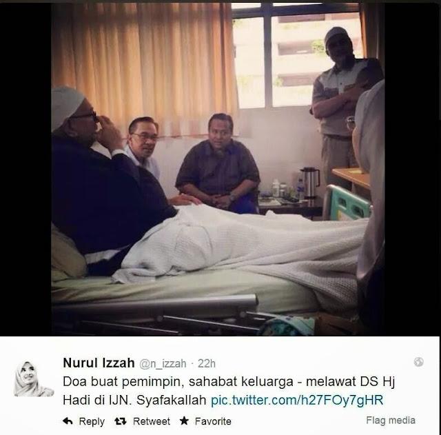 Ds Anwar Melawat TG Haji Hadi