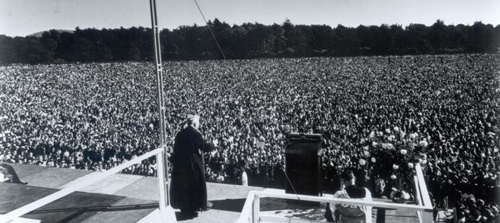 Cruzada del Rosario del Padre Peyton en San Francisco 1961