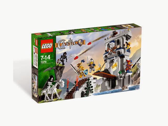 7079 レゴ キャッスル 黄金騎士の塔