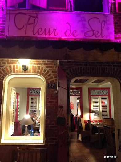 Ну и сам ресторан Fleur de Sel