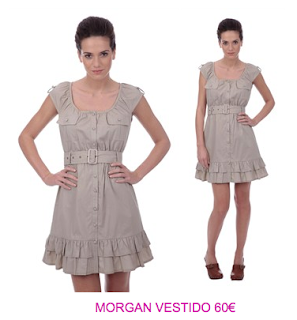 Morgan vestidos casuales