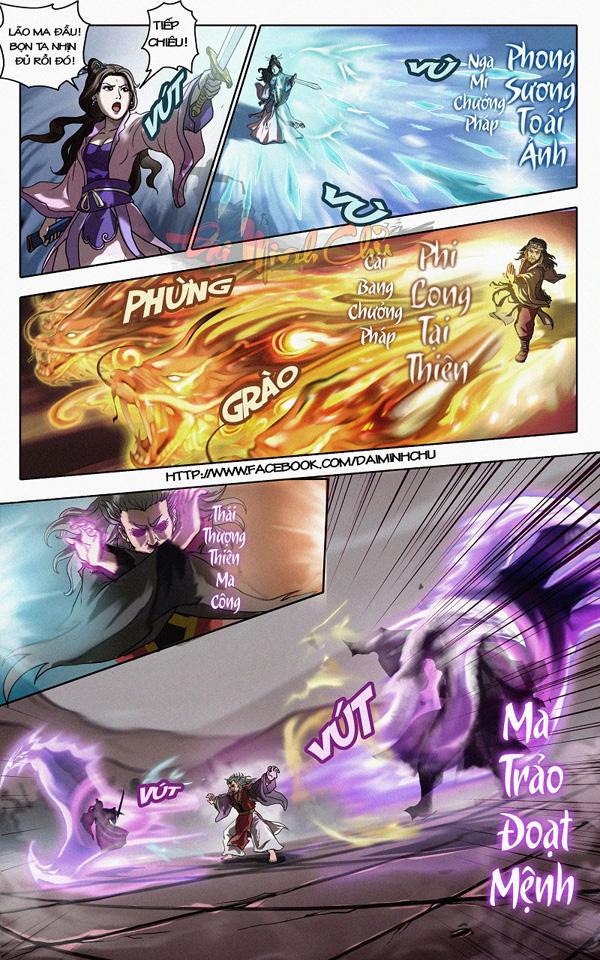 Emobi Games trình làng truyện tranh Đại Minh Chủ 9