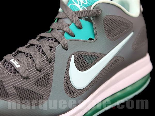 Nike LeBron 9 Low GreyMint CandyNew Green 8220Easter8221