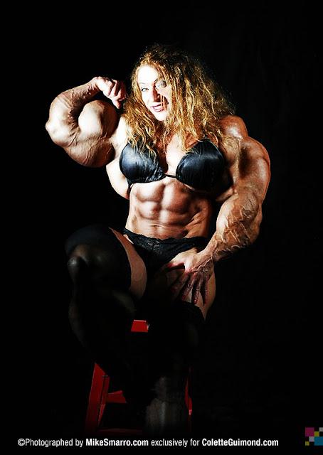 Colette Guimond muscle morph