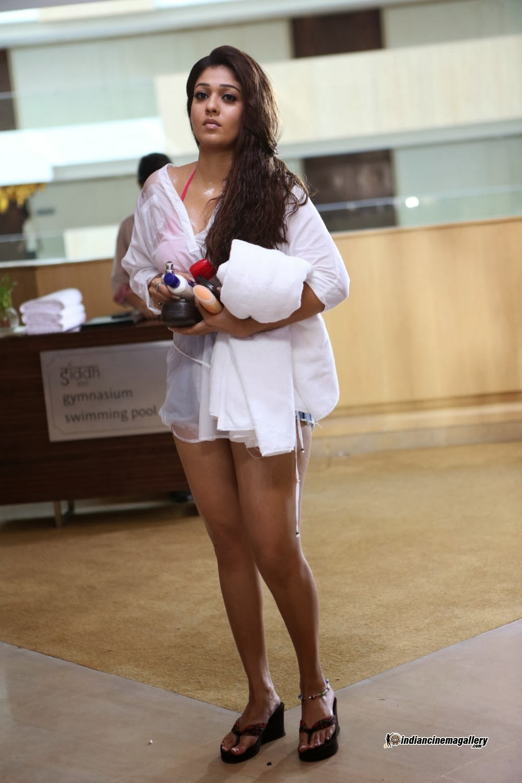 nayanthara hot in bikini