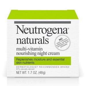 Kem dưỡng ẩm ban đêm Neutrogena Naturals Multi-Vitamin hàng Mỹ xách tay