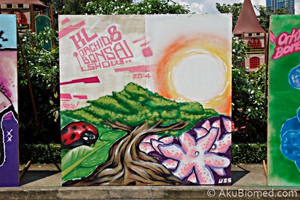 seni graffiti