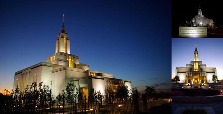 Draper Utah Temple, August 25, 2009
