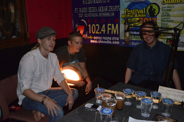 Talk Show DEBU di Radio ZFM