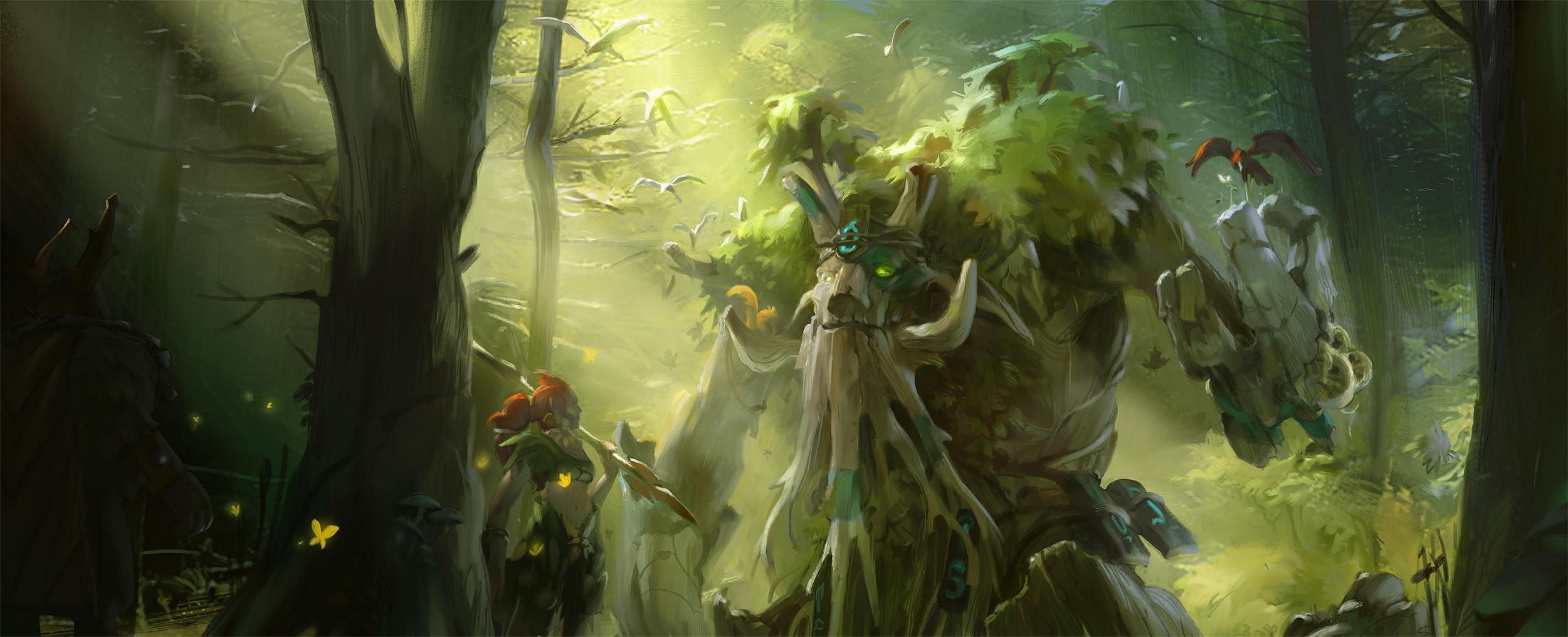 Loạt ảnh nguyên họa của các hero trong DotA 2 - Ảnh 19