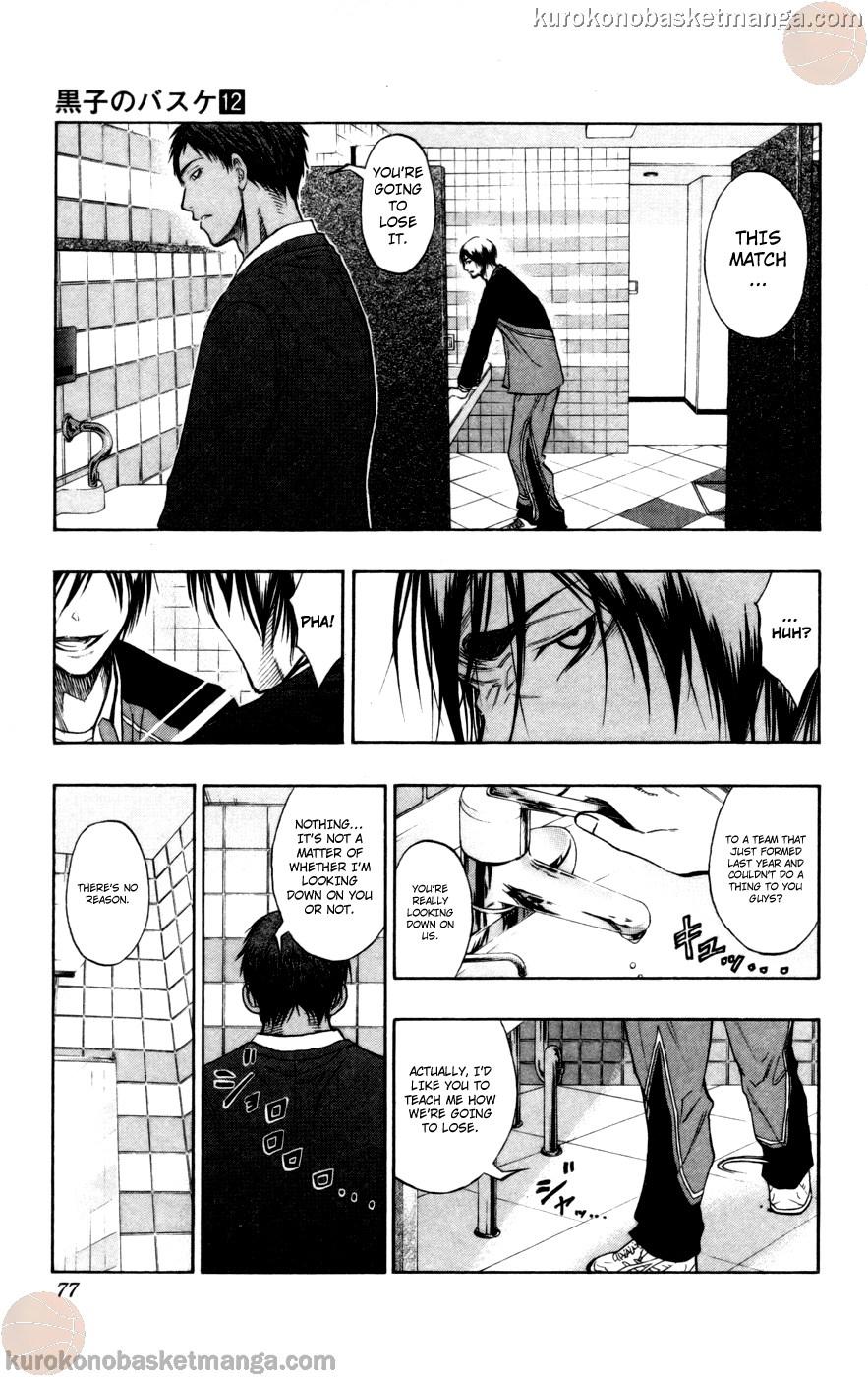 Kuroko no Basket Manga Chapter 103 - Image 11
