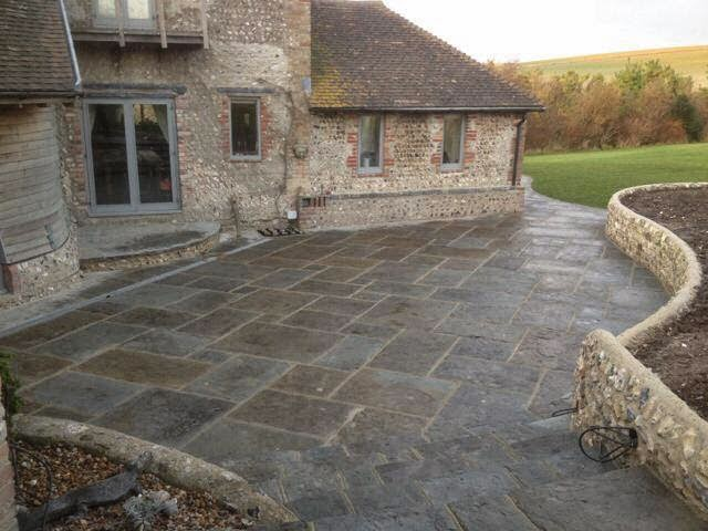 Natural Stone Pavers : Natural stone pavers for designer patio writerscafe