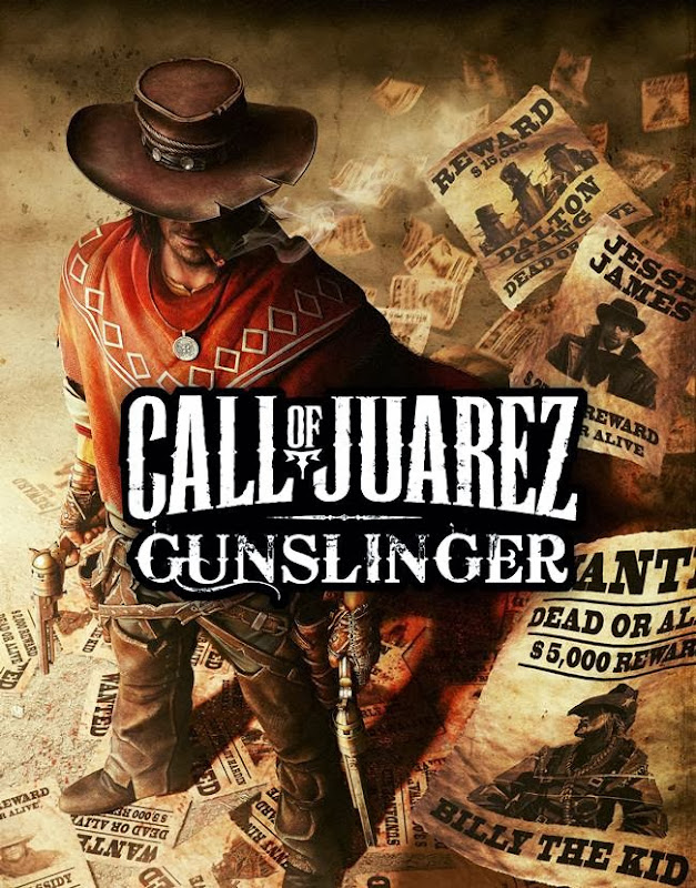 Cover Of Call of Juarez Gunslinger (2013) Full Latest Version PC Game Free Download Resumable Links at Alldownloads4u.Com