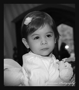 Sophia on her Baptism