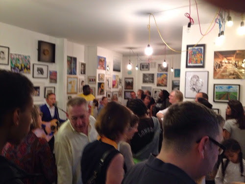 Nunhead, art, open, launch party