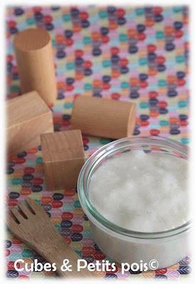 recette bébé 8 mois purée topinambour tapioca cabillaud