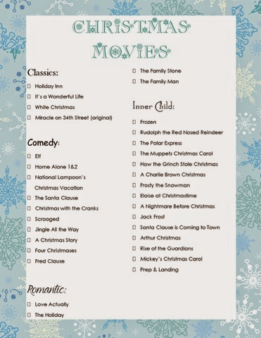 and what helps cross some of these movies off your list faster than abc familys 25 days of christmas ive attached their full schedule here - Abc 25 Days Of Christmas Schedule 2014