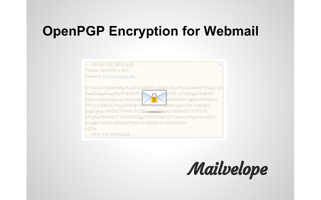Mailvelope Screenshot