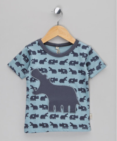Blue Hungry Hippo Tee £5.99