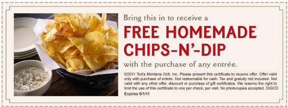 teds montana grill $10 off coupon