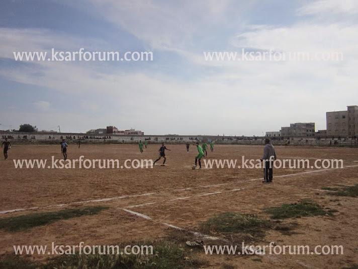 النادي الرياضي القصري يتعادل مع فريق وفاق بوزنيقة و يرتقي للمركز السابع