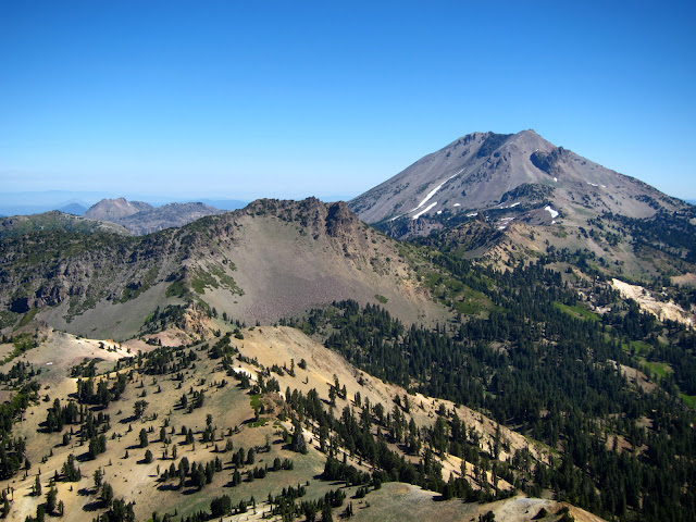 Lassen Peak from Brokeoff Mt.