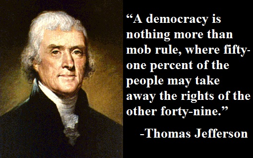 Image result for thomas jefferson on stupidity