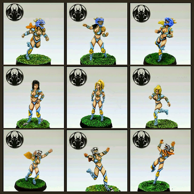 Equipo Altos Elfos de Greebo Blood Bowl