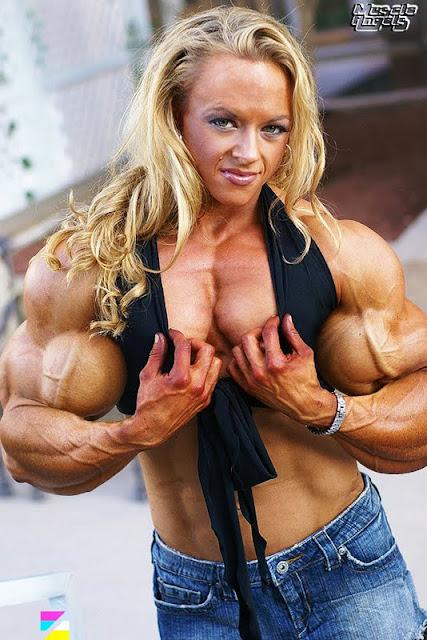 Kristy Hawkins muscle morph