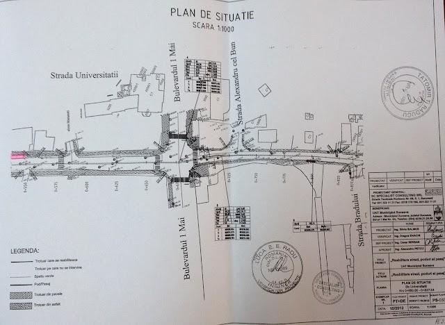 Cum vor arăta străzile Universității și George Enescu după modernizare