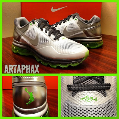 lbj pe nike air max trainer 1 3 dunkman 2 2 LBJs Nike Air Trainer 1.3 Max   Miami Heat and Dunkman   PEs
