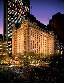 The Plaza Hotel in NY