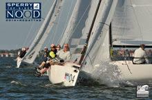 J70s sailing off St Petersburg