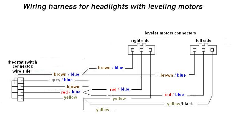 united pacific headlights wiring diagram   40 wiring