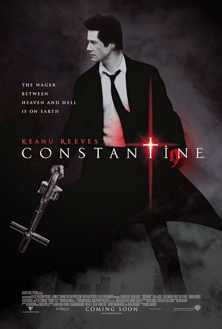 Poster Of Constantine (2005) Full Movie Hindi Dubbed Free Download Watch Online At Alldownloads4u.Com