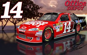 Tony Stewart Office Depot 14 Outdoor Wallpaper