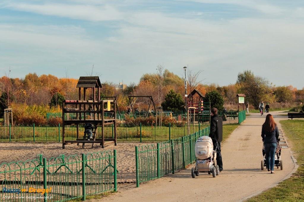 Park Reagana w Gdańsku - miejsce dla rodzin z dziećmi