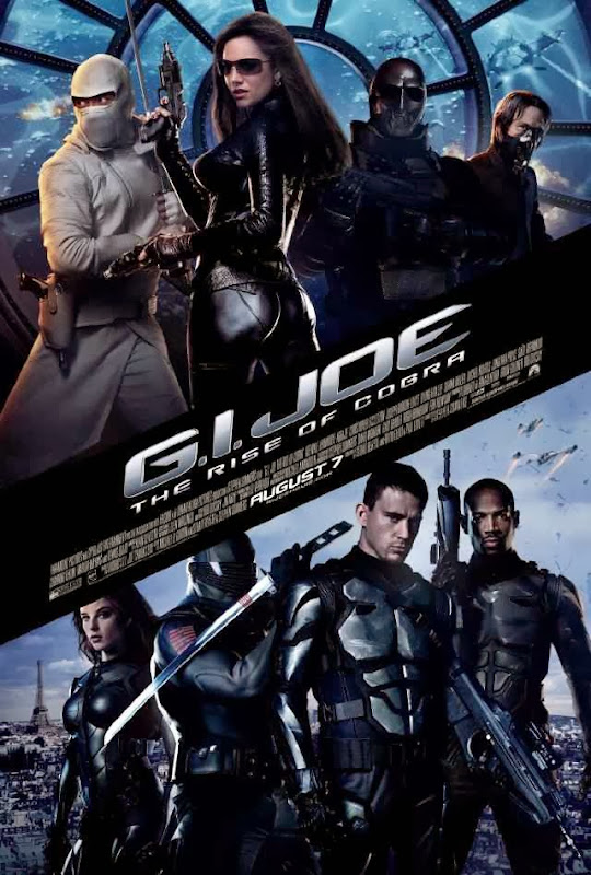 Poster Of G.I. Joe: The Rise of Cobra (2009) Full Movie Hindi Dubbed Free Download Watch Online At Alldownloads4u.Com